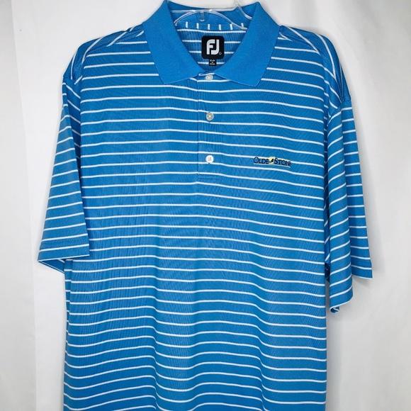 bc3f3414d FootJoy Shirts | Fj Mens Golf Polo Shirt Size Large | Poshmark